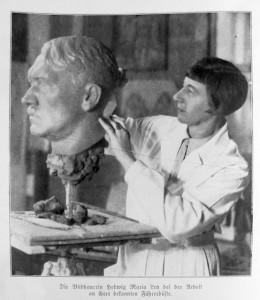 Die Bildhauerin Hedwig Maria Ley